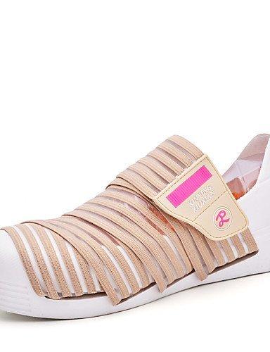 Marrone Senza Formale gyht Tempo Sneakers Scarpe Tulle Microfibra libero lacci ShangYi Piatto Blue Donna moda Casual Blu Comoda alla Mocassini dwSUgAAq0P