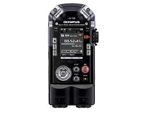 Olympus LS-100 Internal memory & flash card Negro - Dictáfono (1081 h, Pulse-code modulation (PCM), 17,3 h, MP3,PCM,WAV, 20 - 44000 Hz, 4096 MB)