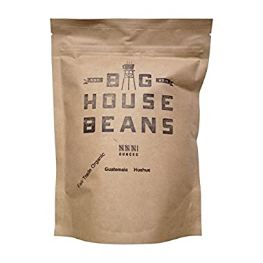 Big House Beans Guatemala Hue Hue Fair Trade Organic Coffee Beans 16 Oz. Bag