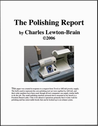 The Polishing Report: a System for Polishing Jewelry Successfully