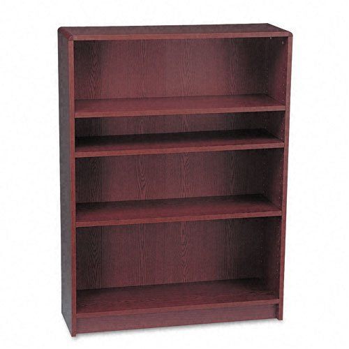 Series 4 Shelf Bookcase (HON 1890 Series Bookcase, 4 Shelves, 36 W by 11-1/2 D by 48-3/4 H, Mahogany)