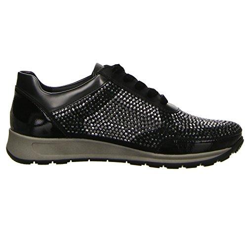 Noir 12 Sneaker Osaka 44567 Ara Femme XPR1Zq