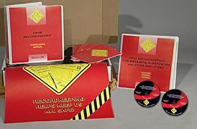 MARCOM OSHA Recordkeeping for Managers, Supervisors and Employees DVD Training Kit