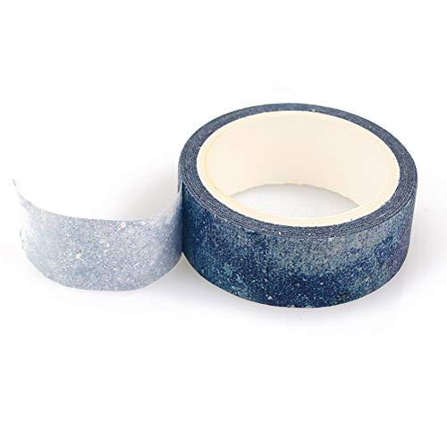 Rosepoem Cinta adhesiva decorativa decorativa Scrapbooking Scrapbooking para manualidades y envoltura de regalos de 3 rollos...