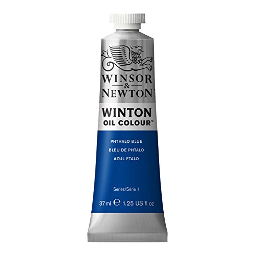 Winton Oil Paint 37ml Tube: Phthalo Blue