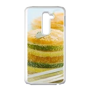 Fresh orange nature style fashion phone case for LG G2
