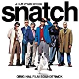 """Snatch (2001 Film) by Bobby Byrd, Madonna, The Specials, The Herbaliser, Massive Attack, Oasis, Huey """" Soundtrack edition (2001) Audio CD"""