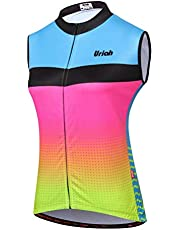 Uriah Women's Cycling Vest Reflective with Rear Zippered Bag