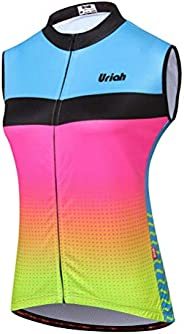 Uriah Women's Cycling Vest Reflective with Rear Zippered