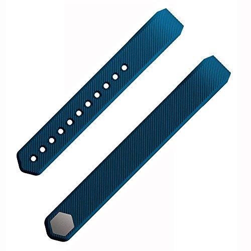 Etoper Silicone Accessories Replacement WristbandBandsSize Large Slate