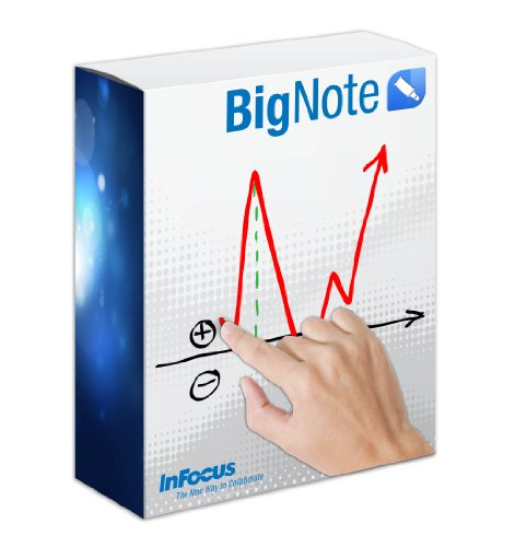 (InFocus Corporation BigNote software for PC 1.2-10 Seat License)