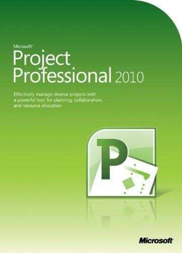 Microsoft Project Professional 2010, EN