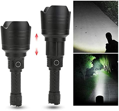 Alomejor A9 Charging Flashlight Portable Long Shot Torch Strong Light Multifunction