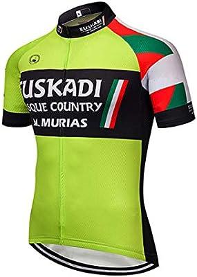 SUHINFE Ropa Traje Ciclismo Hombre Verano Maillot Ciclismo para ...