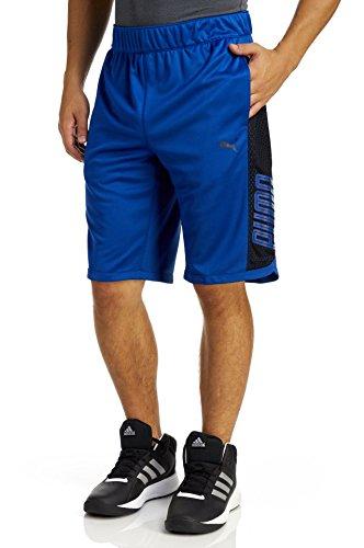 PUMA Men's Motion Flex Training Shorts, Blue 2, Medium (Shorts Men Puma Running)