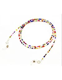 Zehaer Eyewear Retainer Beaded Spectacles Cord Chains Sunglasses Glasses Chain (Colorful)