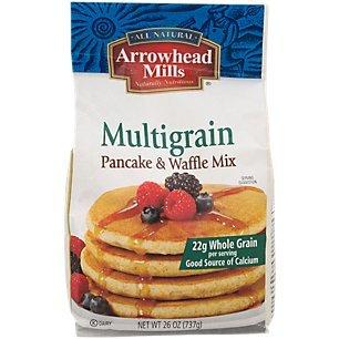 (Arrowhead Mills Multigrain Pancake & Waffle Mix, 26 oz. )