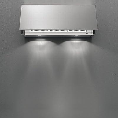 Falmec – Campana de pared integrada de acero inoxidable de 120 cm y potencia 600 M3/H: Amazon.es