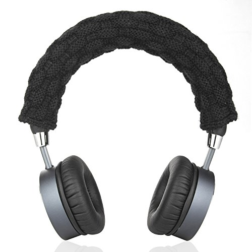 Headband Pad - Timibis Headphone Replacement Headband Cover For Bose, AKG, Sennheiser, Sony, Beats, Audio-Technica Comfort Cushion / Top Pad Protector (Black)
