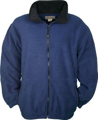 Colorado Timberline Men's Telluride Fleece Jacket-2XL (Navy) by Colorado Timberline