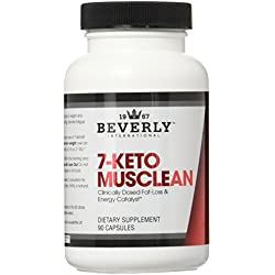 Beverly International 7-Keto Musclean Capsules, 90 Count