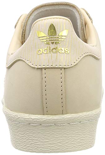 Linen Linen Femme Rose Gymnastique adidas Linen White Off Off White Chaussures Linen Superstar 80s W de XFwqY8O0q