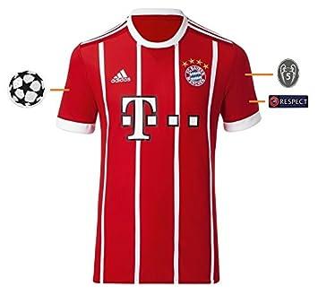 Trikot Herren Fc Bayern 2017 2018 Home Champions League Badge