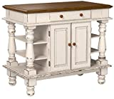 Americana Antique White Kitchen Island by Home