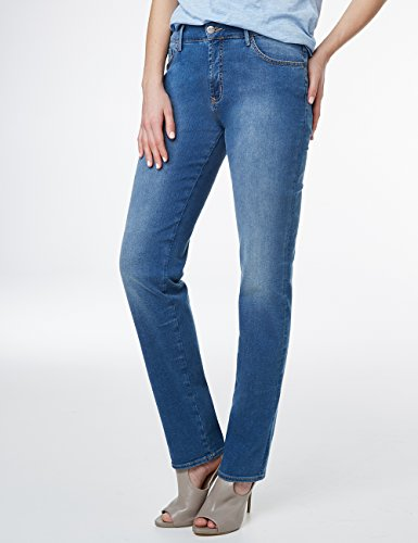 Kate Pioneer 06 Straight Femme Blau Blue Coupe Jean Droite Jambe FxxrdEw