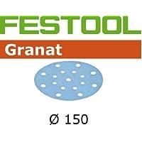 496982, Festool Granat Abrasive 6 in, 220 Grit, 100 pcs by Festool