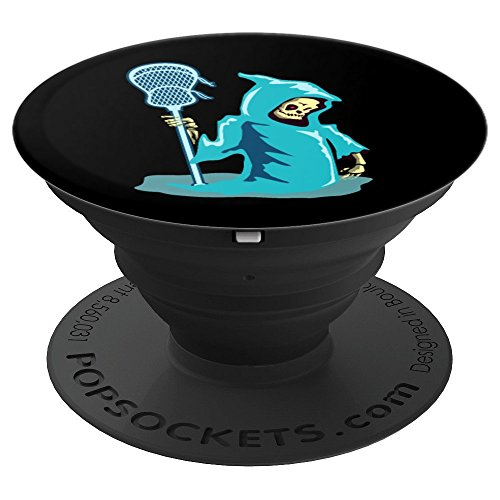 Lacrosse Player Halloween Costume Funny Men Women - PopSockets Grip and Stand for Phones and Tablets