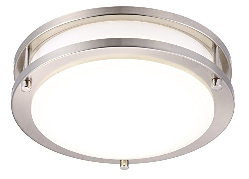 10 inch double ring ceiling light