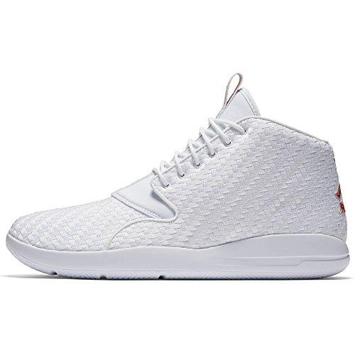 Jordan Textile - Jordan Eclipse Chukka Men's Basketball (14 D(M) US, White/Gym Red Black)