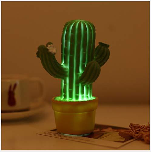 Maceta De Noche Novedad Luz La En Cactus Decoración OPTkXZuiwl