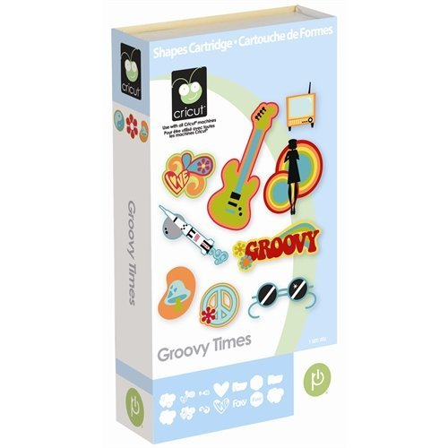 Provo Craft & Novelty Cricut Cartridge, Groovy Times