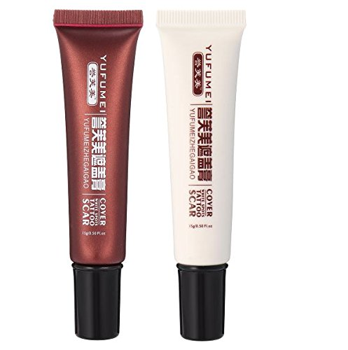 Acne Cream Fades Acne Marks Tattoo Cover Up Makeup Skin Scar Birthmark Concealer by AdvancedShop