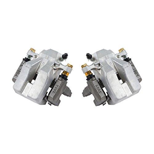 CCK02467 [ 2 ] REAR Premium Grade OE Semi-Loaded Caliper Assembly Pair Set ()