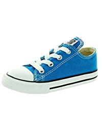 Converse Baby Boy's Chuck Taylor All Star Ox (Infant/Toddler) - Cyan Space - 5 Infant