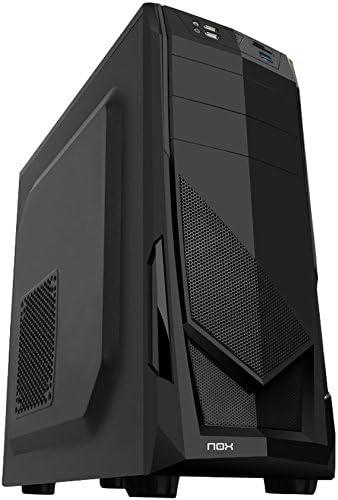 Nox NXONE - Caja de Ordenador Torre ATX, Color Negro: Amazon.es ...
