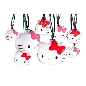 Amazoncom Hello Kitty Christmas Dancing Lights Home  Kitchen