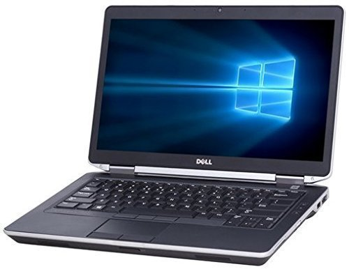 """Dell Latitude E6430 14.1"""" Busines Laptop Computer, Intel Dual-Core i5-3210M up to 3.1GHz Processor, 8GB RAM, 180GB SSD, DVD, HDMI, Windows 10 Professional (Certified Refurbished)"""