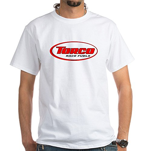 (CafePress TORCO Logo White T-Shirt 100% Cotton T-Shirt, White)
