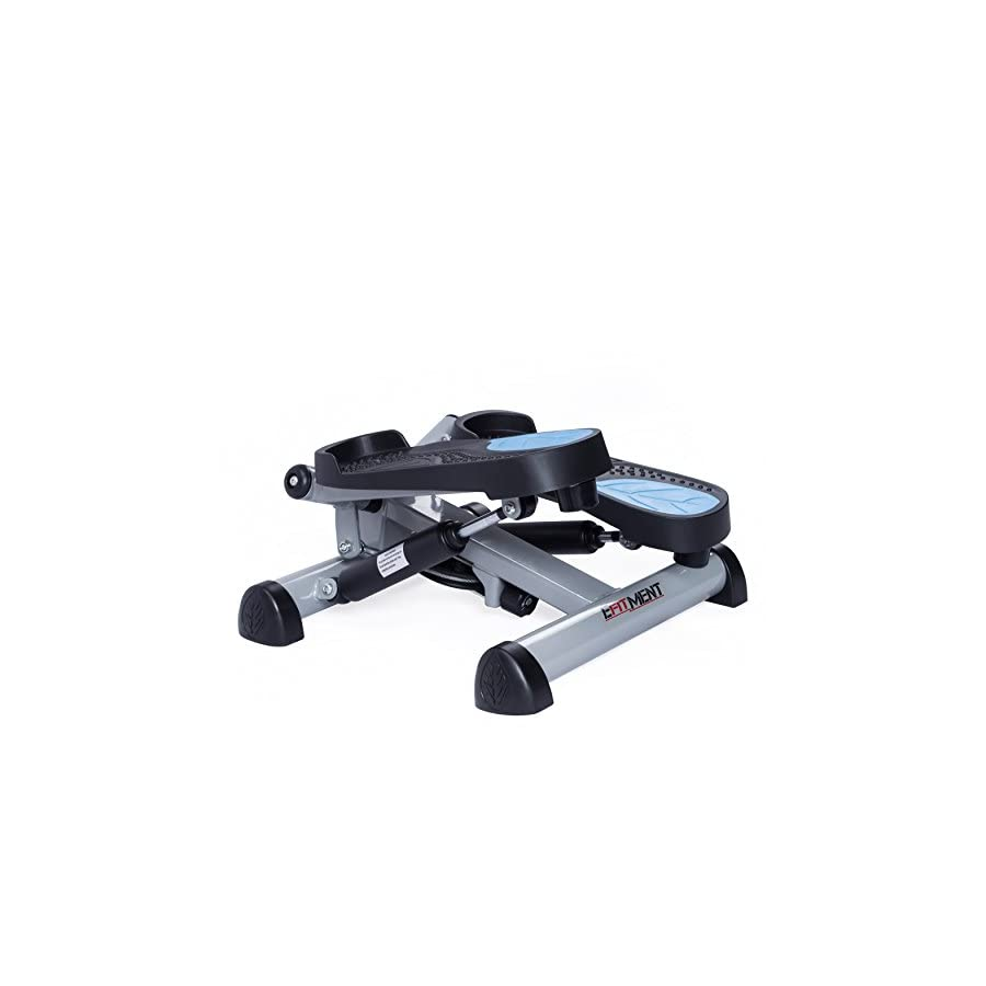 EFITMENT Twist Fitness Stepper Step Machine with Resistance Bands for Fitness & Exercise S023