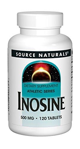 Source Naturals Inosine, 500mg, 120 Tablets