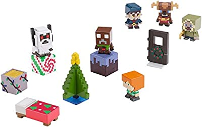 Minecraft Biome Holiday Figure Pack by Mattel