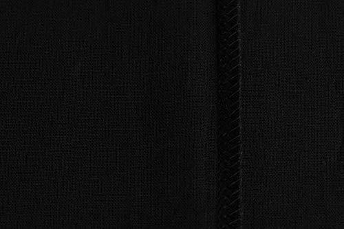 POLHIM Borsa shopper in cotone di qualità 10 pezzi 145 g/m2 dimensioni 38x42 cm manici lunghi 70 cm Nero 100% cotone. Il… 4 spesavip