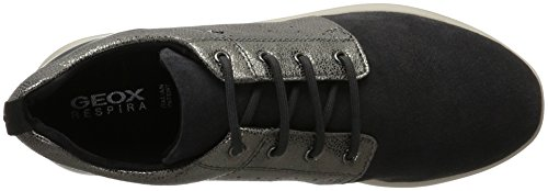 Geox Grey Ophira Sneakers Dk Basses Femme A Gris xHCqxZwBf