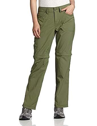 Mountain Hardwear Women's Convertible Pants 8 OLIVE