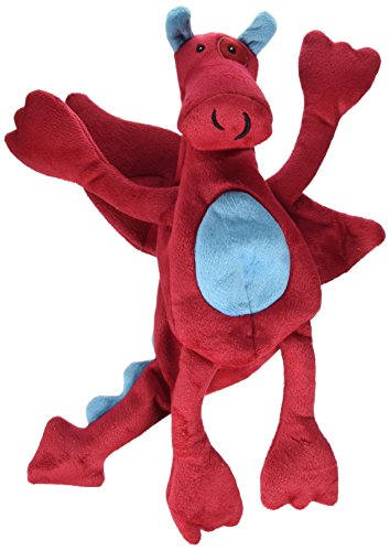 Trusty Pup Dragons Plush Toy-Red