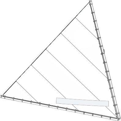 Sunfish Direct Sunfish Sail (Select Your Design) (White)